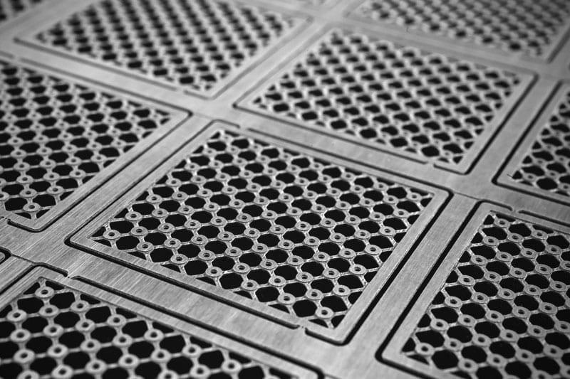 Aluminium etching