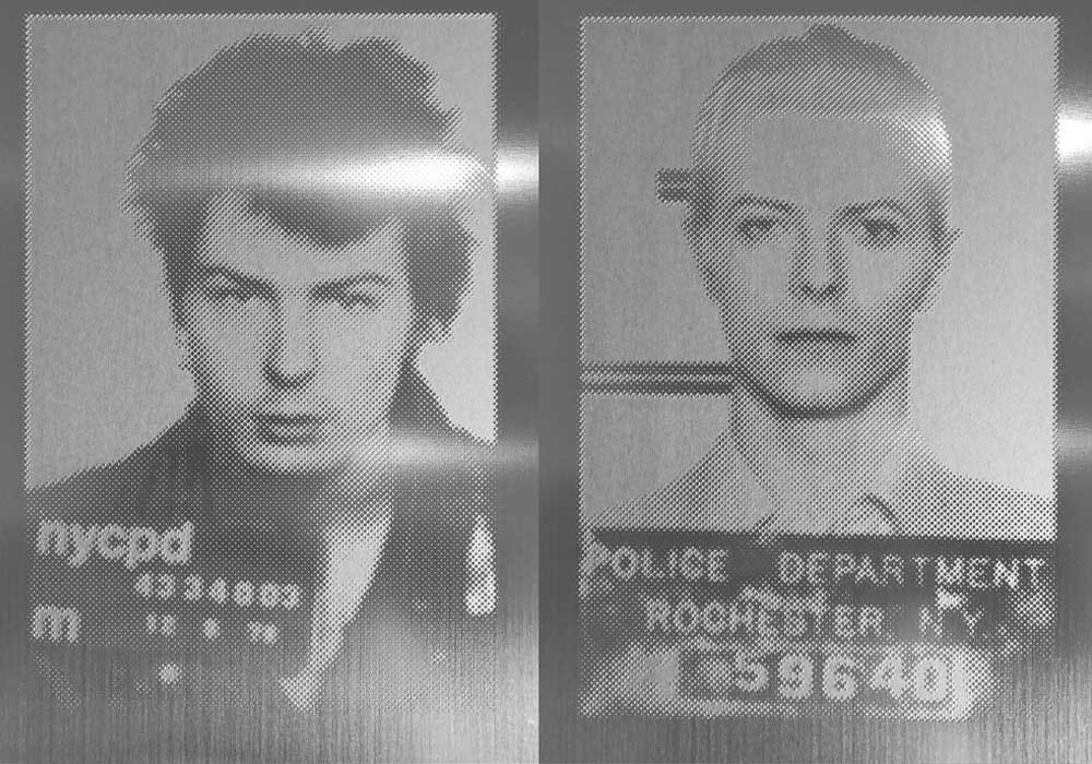 Sid Vicious and David Bowie